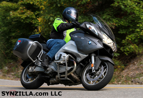 BMW R1200RT Protected by AMSOIL Synthetic Lubricants
