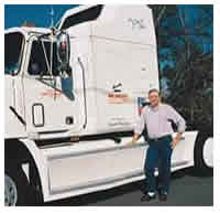 Haywood Grey went 409,000-miles without an oil change in his Mack E7-400